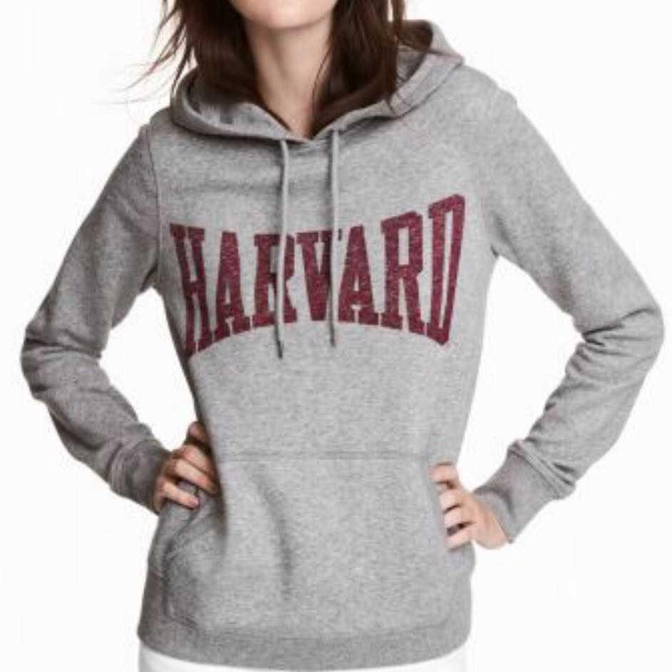Harvard University Oversized Hoodie